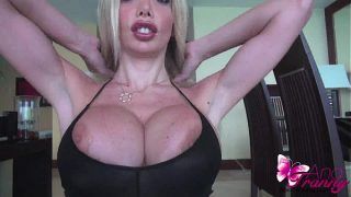 Beautiful Shemale Ana Mancini Shows Her Big Tits