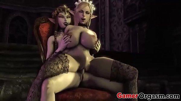 GamerOrgasm.com   Dirty Futanari 3D Collection 2018